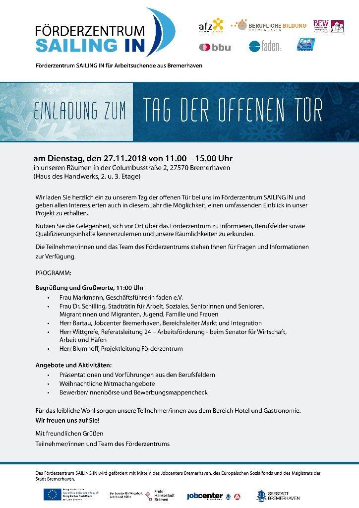 Einladung TDOT SAILING IN 2018 FINAL pfade
