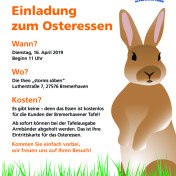 Plakat_Bremerhavener Tafel_Osteressen_A3_Final